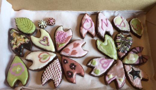 春を先取り☆ 植物性材料で♪さくらのアイシングクッキーを開催しました!
